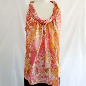 Talbots Floral Tunic, Size 12